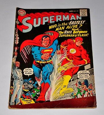 Superman 199 Silver Age Flash Race 1967