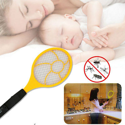 44 *15.5 * 4cm Red Blue Electric Mosquito Swatter Flyswatter Practical