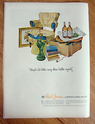 1944 Paul Jones Whiskey Ad Look What We Found in Attic