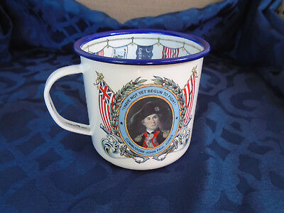 Commodore John Paul Jones Tin Mug