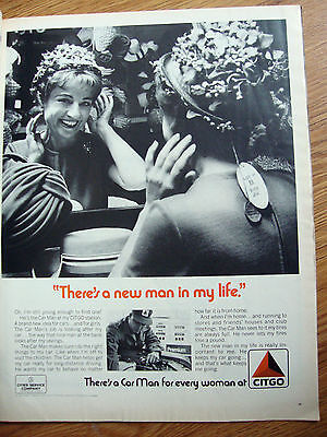 1971 Citgo Oil Gas Ad There's a New Man in My Life
