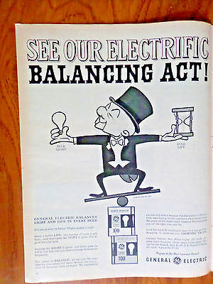 1962 GE General Electric Light Bulb Ad   Mister Magoo