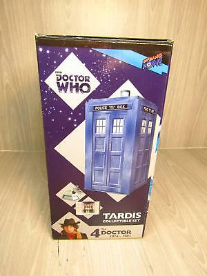 Doctor Who Tardis Collectible Set 4th Doctor K-9 In Original Box
