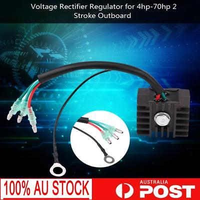 HOT Voltage Rectifier Regulator for 4hp-70hp 2 Stroke Outboard Yamaha Mariner