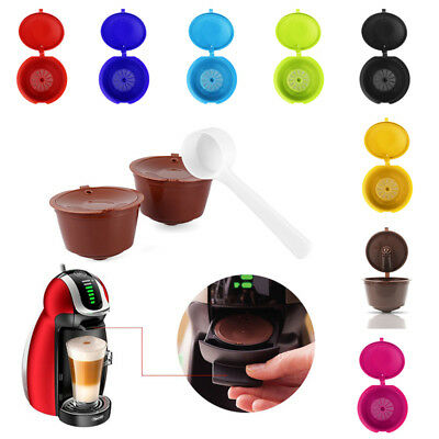 1pc Coffee Capsule Cup Filter For Dolce Gusto Refillable Brewers Nescafe