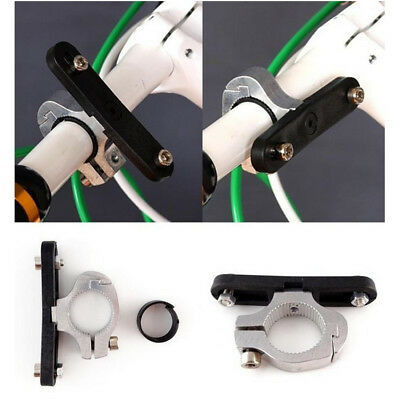 Bicycle Bike Cycling Water Bottle Cage Holder Clamp Clip Handlebar Bracket Mount
