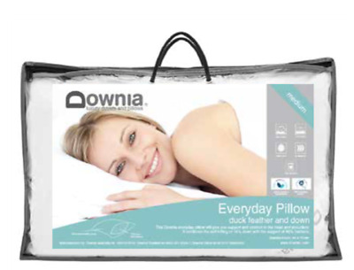 EVERYDAY COLLECTION duck feather and down Standard Medium pillow