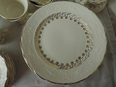 Set Lot Vintage Stetson Lancaster Chinaware 22K Florentine Dishes 50 Pieces