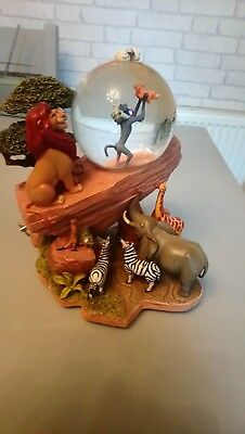 Disney lion king musical snow globe RARE