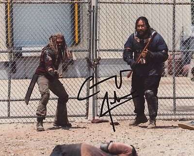 Cooper Andrews Signed The Walking Dead 8X10 Photo