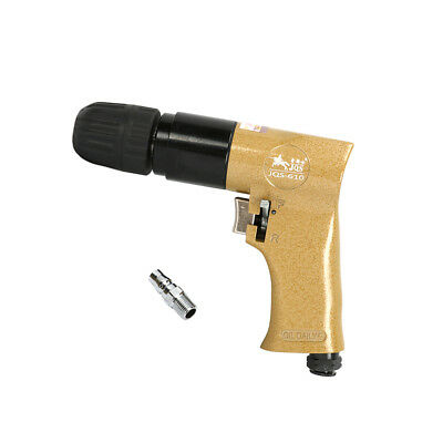 """Air Drill Pistol Type Reversible for Drilling Pneumatic Tool 3/8"""" Chuck 2000RPM"""