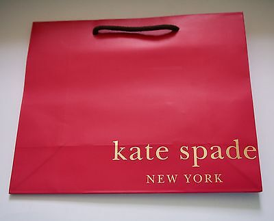 Set Of 20 Kate Spade Speciality Store Paper Shopping Gift Bags 7.75 x 9.75 NEW