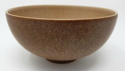 "Denby Cinnamon - Toffee - 5"" Rice Bowl - Footed."