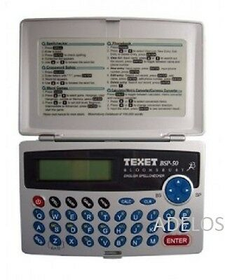 Texet Spell Checker Calculator Crossword Solver Currency Converter Word Game