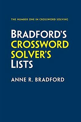 Collins Bradford's Crossword Solver's Lists by Bradford, Anne R. Book The Cheap