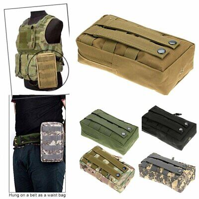 Tactical Hunting Molle Waist Bag Medical First Aid EDC  Pouch Pocket Outdoor UK