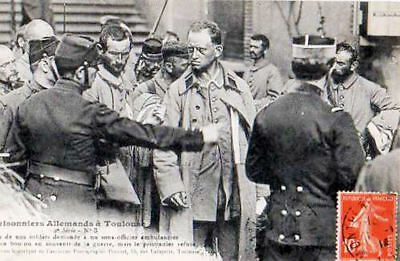 31 Cpa  Animee 1914 - Prisonniers Allemands A Toulouse
