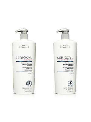 Loreal Serioxyl Hair Loss System Thickening Shampoo And Conditioner Salon Size 1