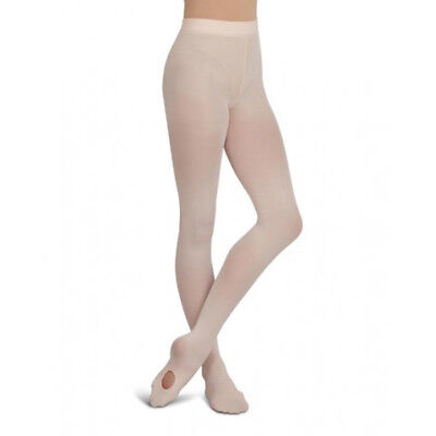Capezio 1916 Ultra Soft Self Knit Waistband Transition Tights