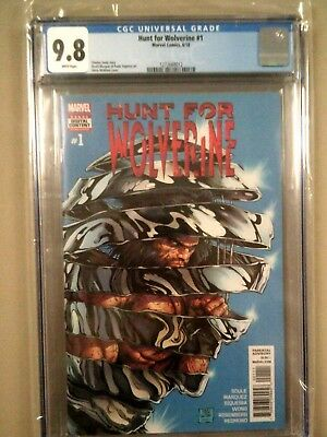 Hunt for Wolverine #1 McNiven Cover A CGC 9.8 IN STOCK NOW