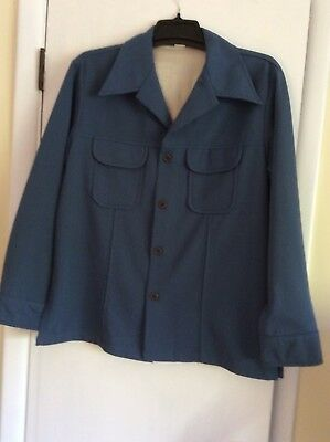 Vintage Polyester Leisure Suit Jacket Size 44