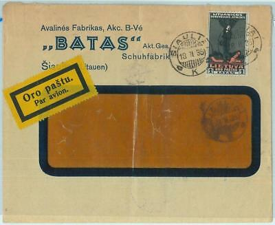 68603 - LITHUANIA  - POSTAL HISTORY -  Advertising COVER to SWEDEN  1935
