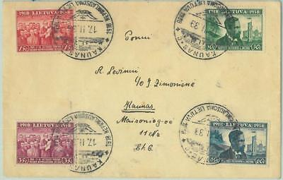 68610 - LITHUANIA - POSTAL HISTORY -   SPECIAL POSTMARK on COVER 1939