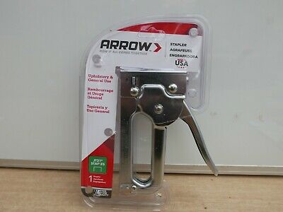 Arrow Jt21Cm Jt21 Stapler Staple Tacker Gun Chromed Body
