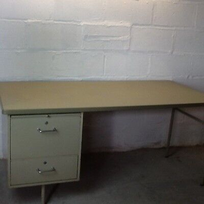 Mid Century Metal Desk