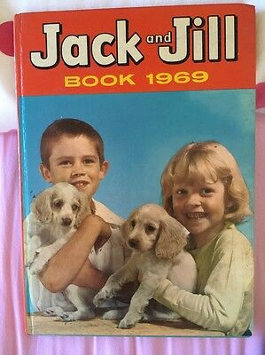 Jack and Jill Book 1969 Hardback Fleetway Publications Ltd ***Unclipped***
