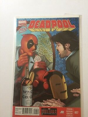 Deadpool #7 Iron Man Variant Cover By Tan. 1St Print 2013 Nm/m