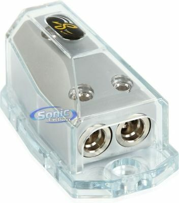 STINGER Power or Ground Distribution Block with Satin Chrome Finish | SHD20