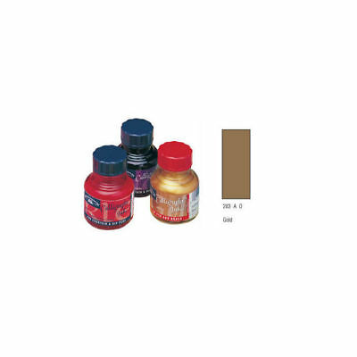 Calligraphy-Tusche, metallic gold 30ml, rote Kappe