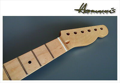 Telecaster Canadian Maple Neck, Maple Fretboard mit 22 Frets, High Gloss Nature