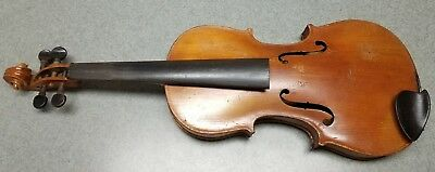 Antique Late 1800's Germany Antonius Stradivarius Cremonensis Violin Full 4/4 NR