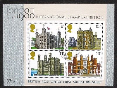 Great Britain - 1978 - Architecture - SG MS 1058 - Cancelled Mint