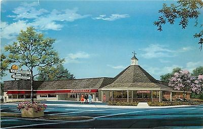 Bethesda Maryland~O'Donnell's Restaurant~Ocean-Fresh Seafood~Weather Vane~1960s