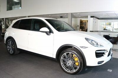 Porsche Cayenne  2011 SUV Used Turbocharged Gas V8 4.8L/293 8-Speed Automatic w/OD AWD White
