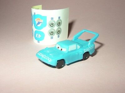 The King Plymouth Superbird aus Cars ca 4cm lang Disney