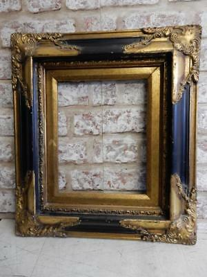 """VINTAGE OLD picture frame fits a 10 inch  X 8 """" painting"""