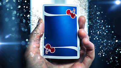 2 DECKS Cherry Casino Tahoe Blue V5 playing cards  FREE USA SHIPPING!