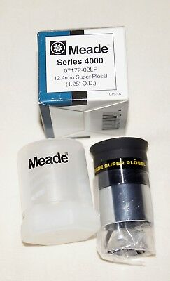 "Meade Series 4000 12.4mm super plossl 1.25"" telescope eyepiece"