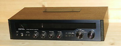 Rotel RX-202 MKII  -  Stereo Receiver AM / FM  -  vintage - 1970er