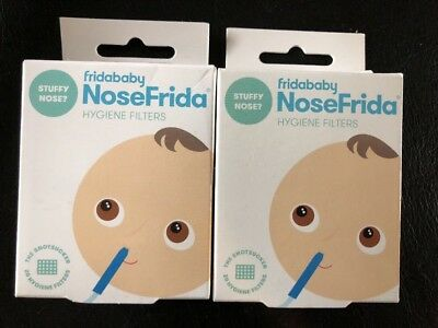 NoseFrida Hygiene Filters The Snotsucker 20 count NEW Fridababy