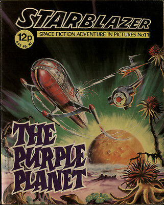 The Purple Planet,starblazer Fantasy Fiction In Pictures,comic,no.11,1979