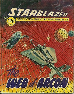 The Web Of Arcon,starblazer Space Fiction Adventure,no.12,1979