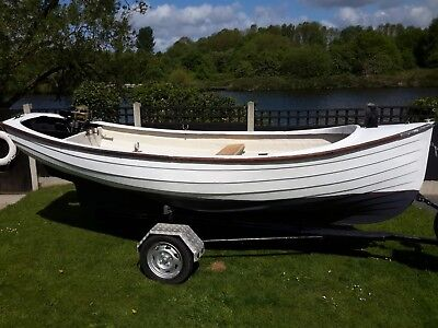 16ft FISHING BOAT GRP WITH TRAILER AND  OUTBOARD ENGINE