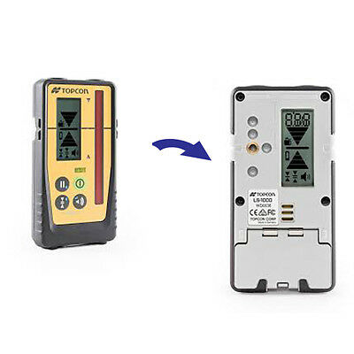 Topcon LS-100D Digital Rotating Laser Level Detector without Clamp