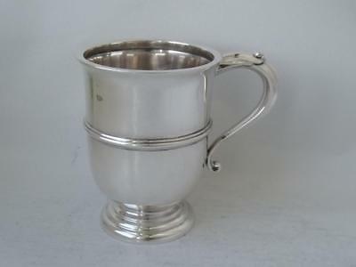 Snart Solid Sterling Silver Cup/ Mug 1922/ H 9.1 cm/ 125 g