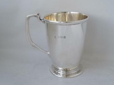 Antique Solid Sterling Silver Cup/ Mug 1906/ H 8.5 cm/ 112 g